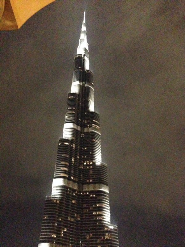 The tallest building.. at night... OMG