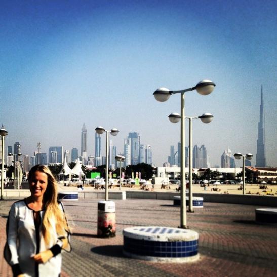 American Expat Living in Dubai
