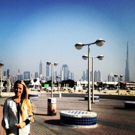 American Expat Living in Dubai